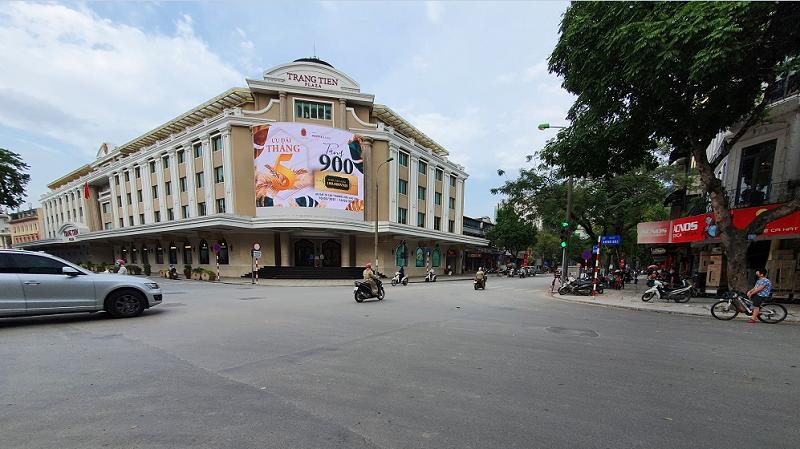 Vị trí dự án The Grand Hà Nội - Masterise Hàng Bài đối diện Tràng Tiền Plaza