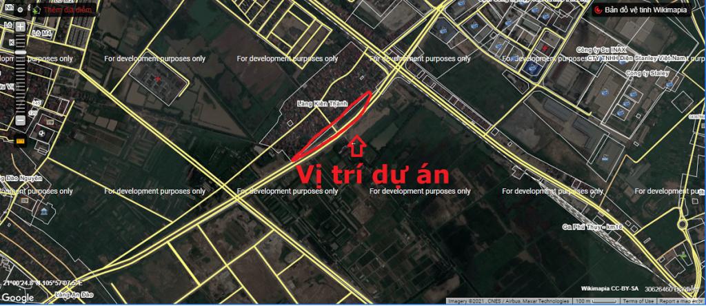 Vị trí khu nhà ở Liền Kề Kiên Thành - Trâu Quỳ - Gia Lâm