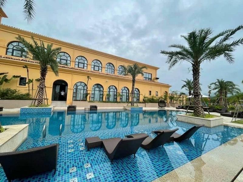 Ảnh thực tế 2 dự án Wyndham Sky Lake Chương Mỹ Villas & Resort