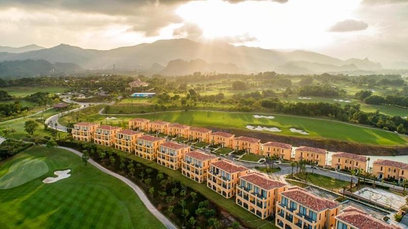 Ảnh thực tế 4 dự án Wyndham Sky Lake Chương Mỹ Villas & Resort
