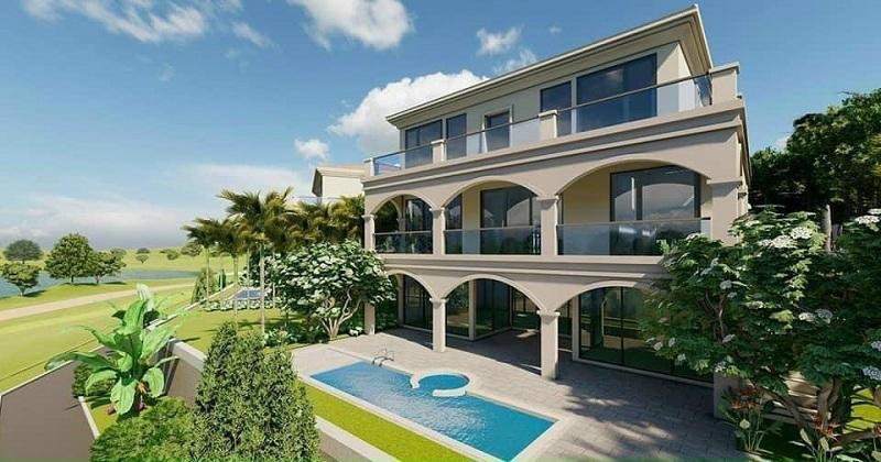 Ảnh thực tế 6 dự án Wyndham Sky Lake Chương Mỹ Villas & Resort