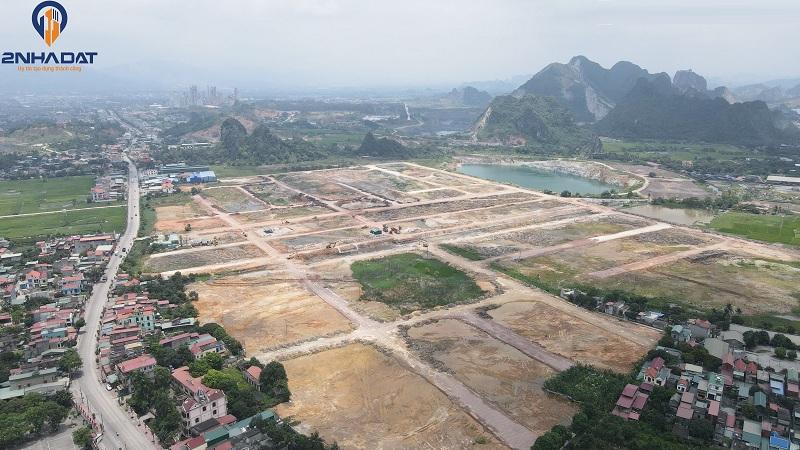 Ảnh thực tế tiến độ dự án đất nền Bắc Phú Thứ - Kinh Môn - Hải Dương