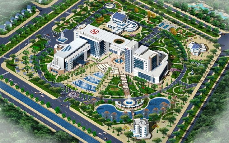 Bệnh viện 700 giường trong khu đô thị Mỹ Trung Nam Định