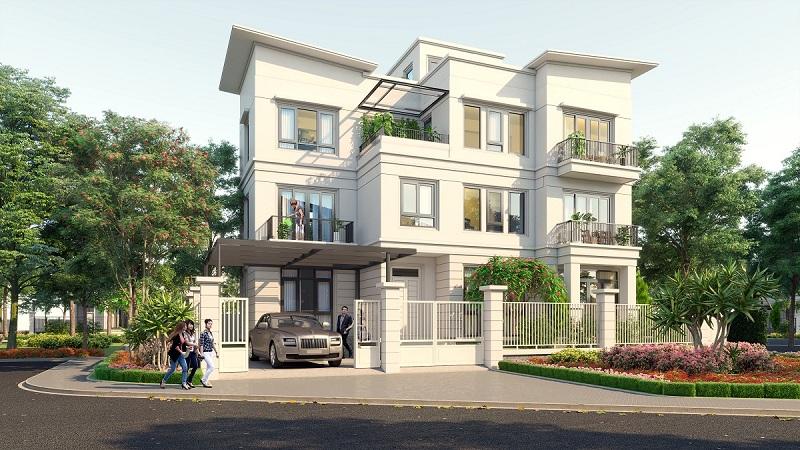 Biệt thự đơn lập dự án Vinhomes Dream City Văn Giang - Hưng Yên
