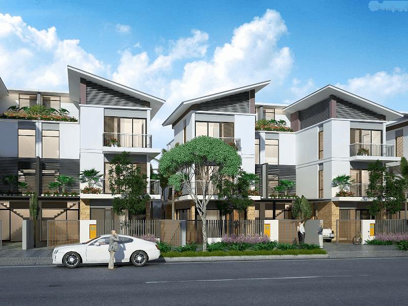Biệt thự khu đô thị Mỹ Trung Nam Định