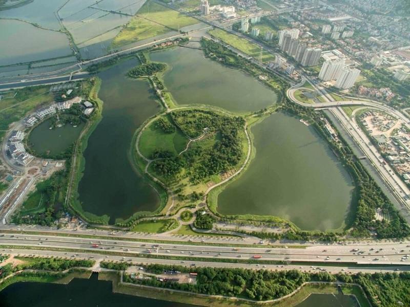 Công viên Yên Sở - Hoàng Mai rộng 323ha lớn nhất Hà Nội
