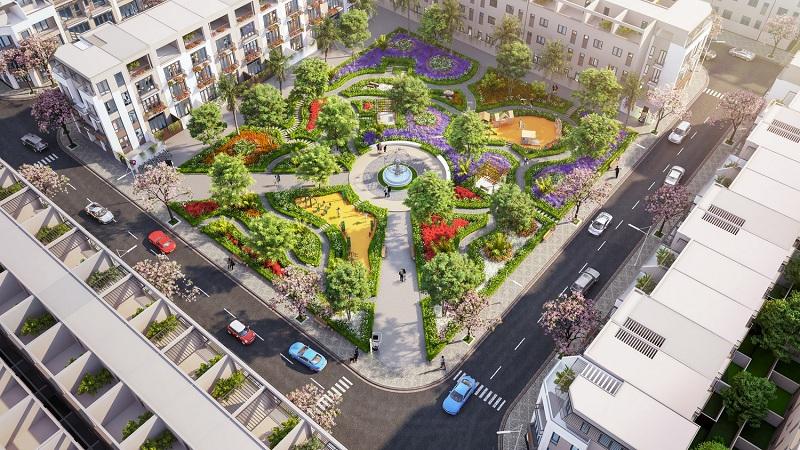 Công viên trung tâm dự án TNR Stars Cổ Đam - Bỉm Sơn - Thanh Hóa