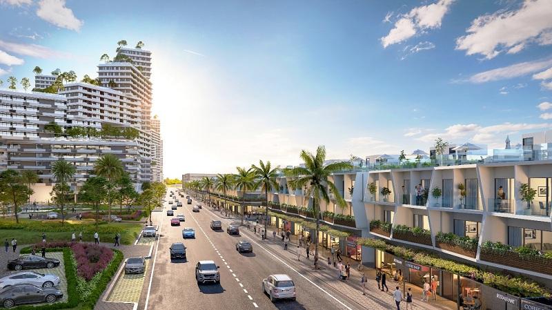 Đường nội khu dự án Thanh Long Bay - Kê Gà - Bình Thuận