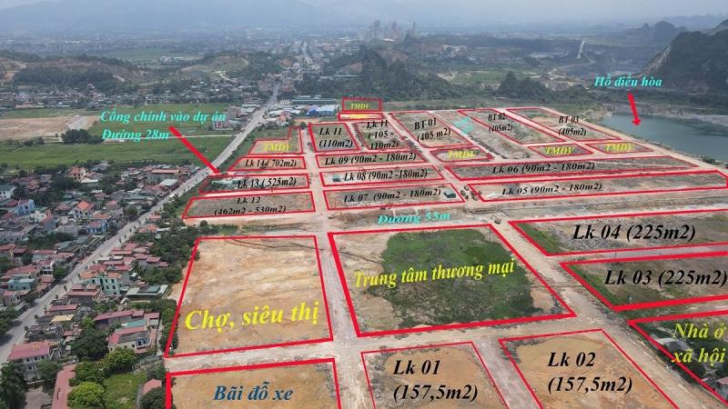 Flycam 1 dự án đất nền Bắc Phú Thứ - Kinh Môn - Hải Dương