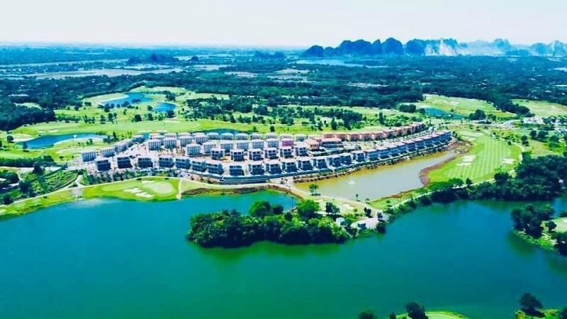 Flycam 2 thực tế dự án Wyndham Sky Lake Resort & Villas Chương Mỹ