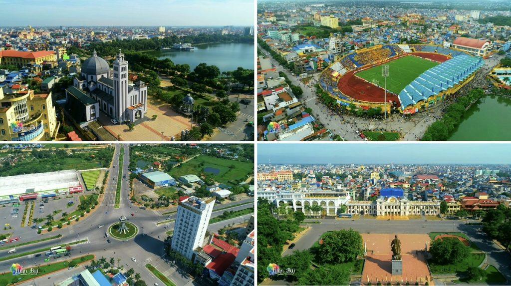 Flycam TP Nam Định phát triển mạnh mẽ