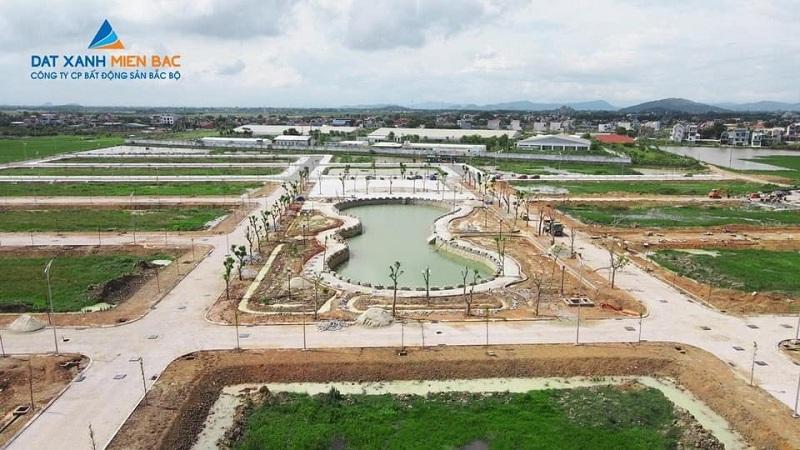 Flycam thực tế khu đất đấu giá Đồng Nam - Đông Sơn - Thanh Hóa