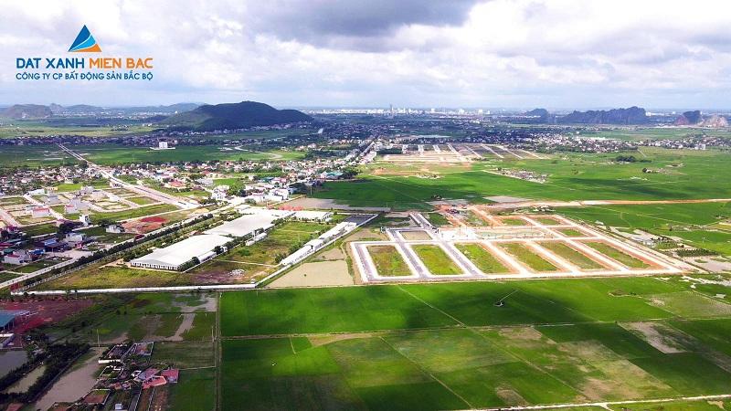 Flycam thực tế 5 khu đất đấu giá Đồng Nam - Đông Sơn - Thanh Hóa