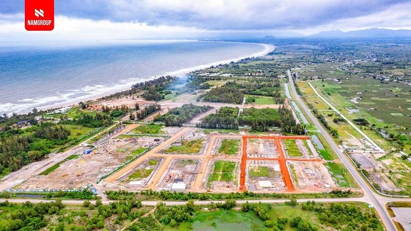 Flycam tiến độ thực tế dự án Thanh Long Bay - Kê Gà - Bình Thuận