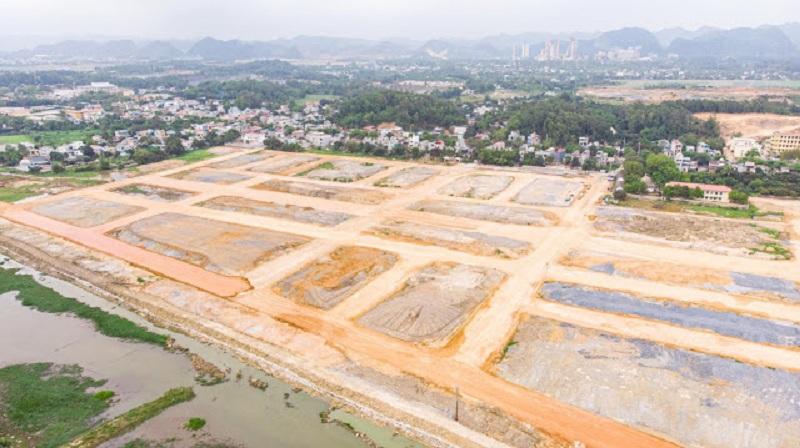Flycam tiến độ thực tế 2 dự án TNR Stars Cổ Đam - Bỉm Sơn - Thanh Hóa