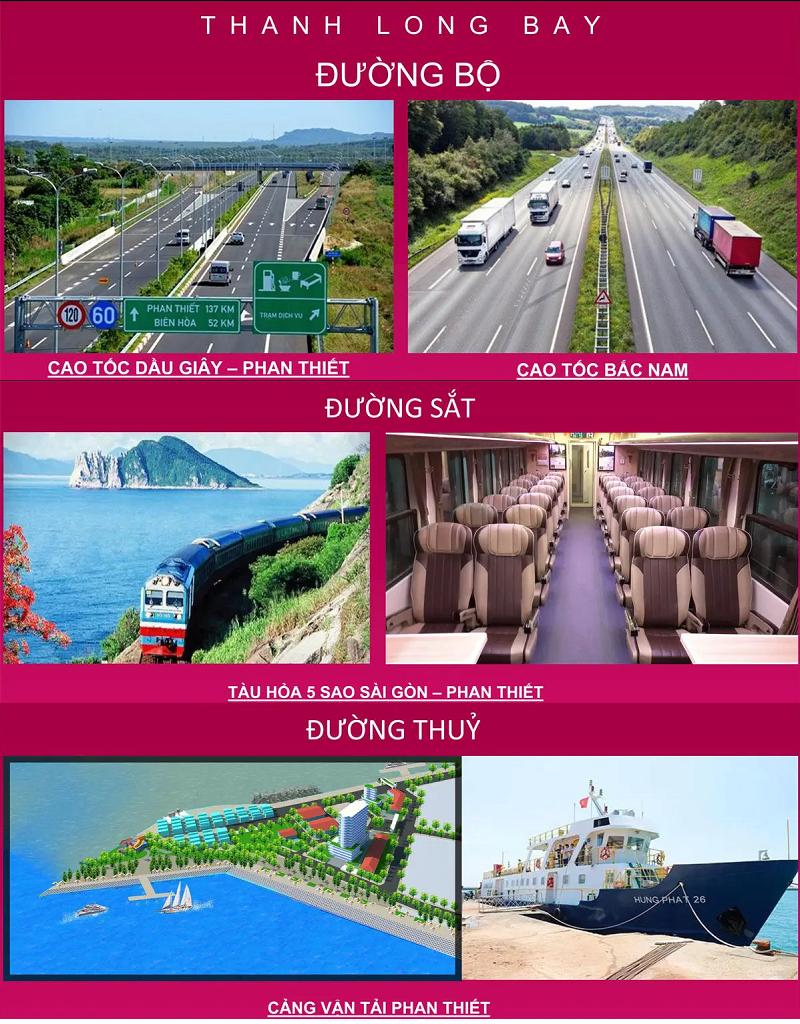 Hạ tầng giao thông dự án Thanh Long Bay - Kê Gà - Bình Thuận