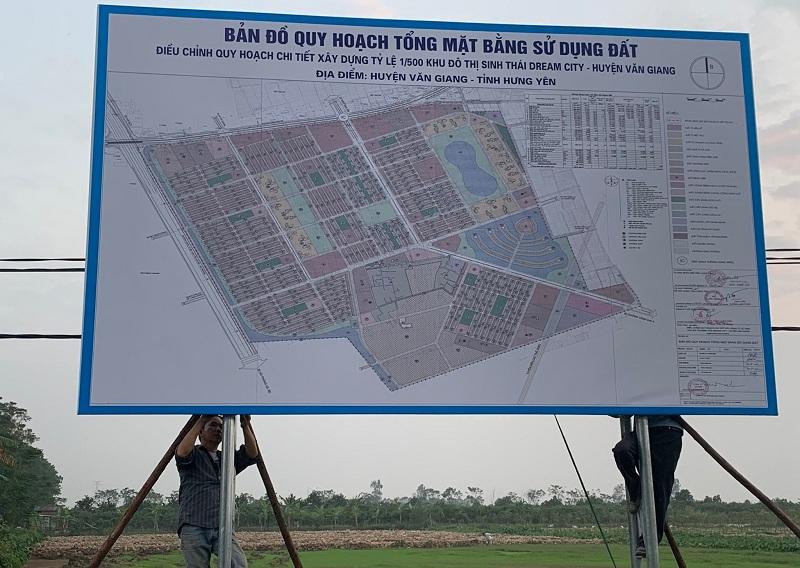 Hình ảnh thực tế dự án Vinhomes Dream City Văn Giang - Hưng Yên
