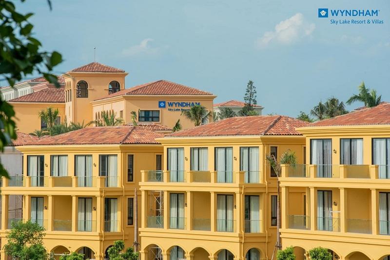Hình ản thực tế 1 dự án Wyndham Sky Lake Chương Mỹ Resort