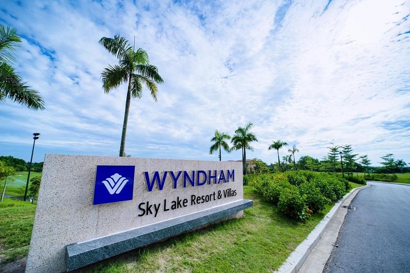 Hình ản thực tế 2 dự án Wyndham Sky Lake Chương Mỹ Resort