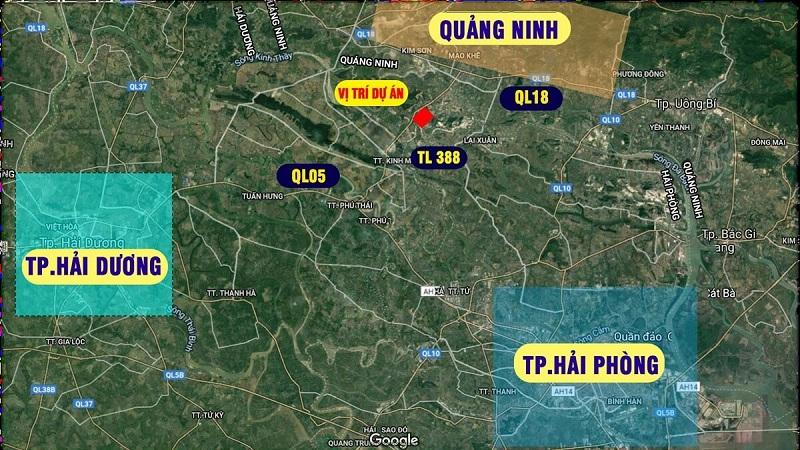 Kết nối dự án đất nền Bắc Phú Thứ - Kinh Môn - Hải Dương