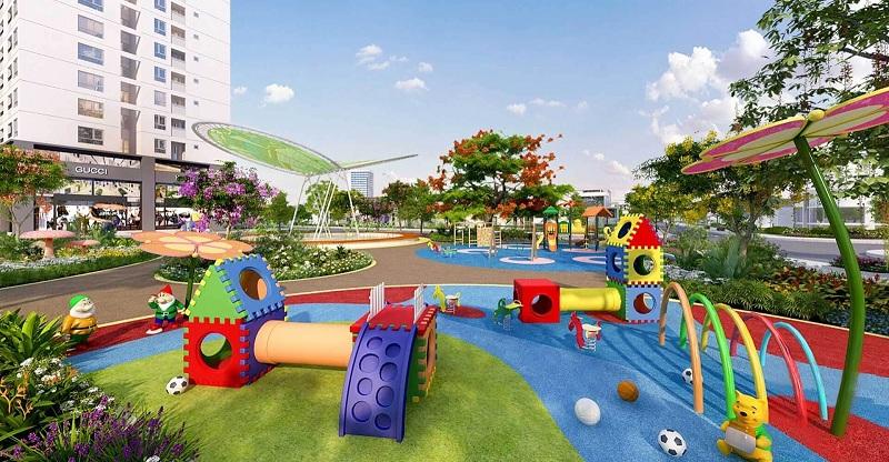 Khu vui chơi trẻ em dự án Eurowindow Lake City Hoàng Mai - Yên Sở