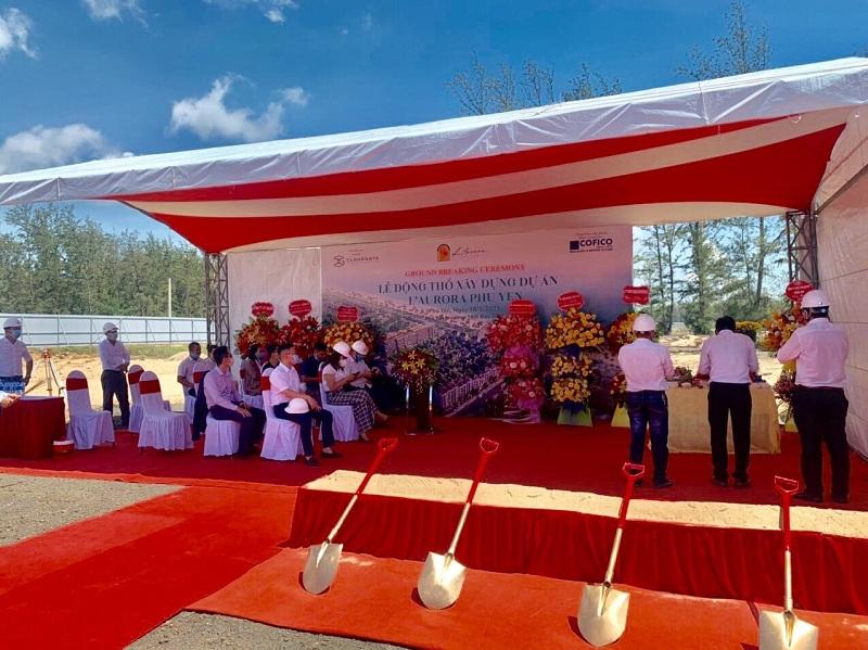 Lễ động thổ dự án L' Aurora Phú Yên