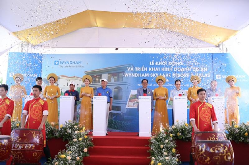 Lễ khởi động và triển khai kinh doanh dự án Wyndham Sky Lake Chương Mỹ Villas & Resort
