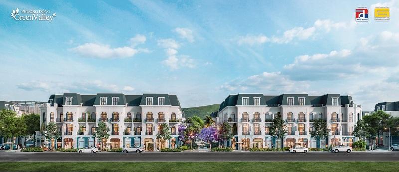 Liền kề dự án Phương Đông Green Valley Lương Sơn - Hòa Bình