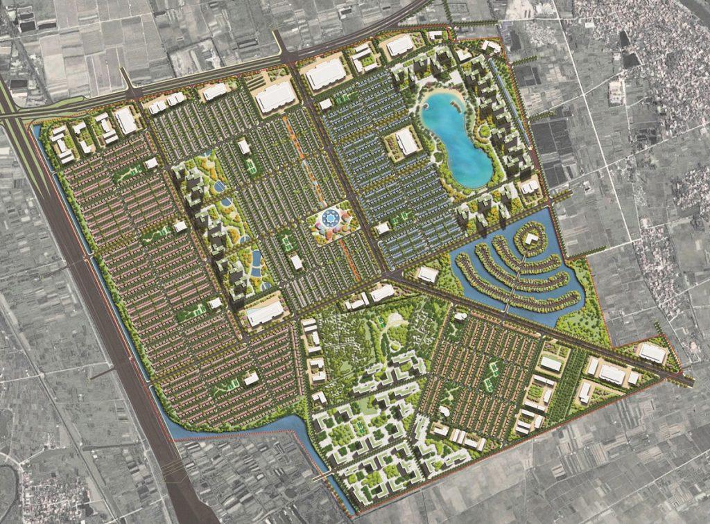 Mặt bằng dự án Vinhomes Dream City Văn Giang - Hưng Yên