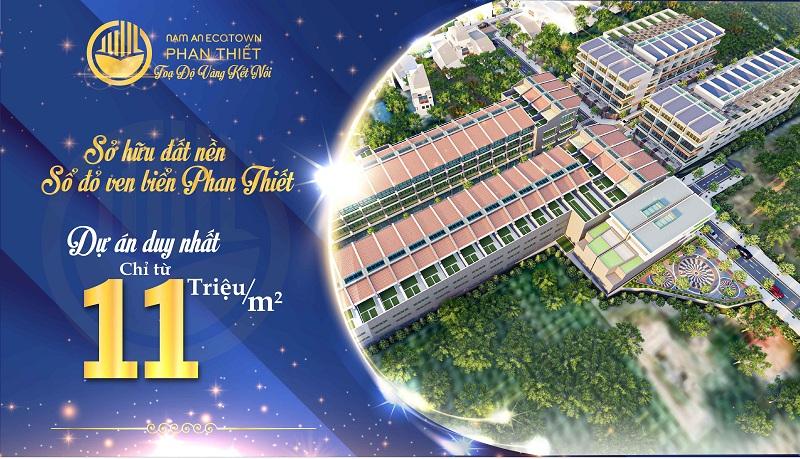 Mở bán đất nền Nam An Eco Town Hàm Thuận - Hưng Vượng - Phan Thiết