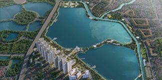 Phối cảnh 1 dự án Eurowindow Lake City Hoàng Mai - Yên Sở