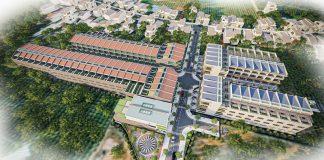 Phối cảnh 1 đất nền Nam An Eco Town Hàm Thuận - Hưng Vượng - Phan Thiết