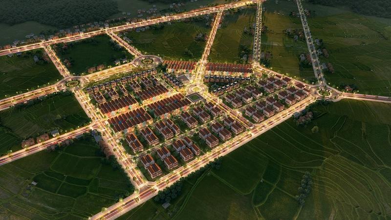 Phối cảnh 2 dự án đất nền La Viena Valley Đà Bắc - Hòa Bình