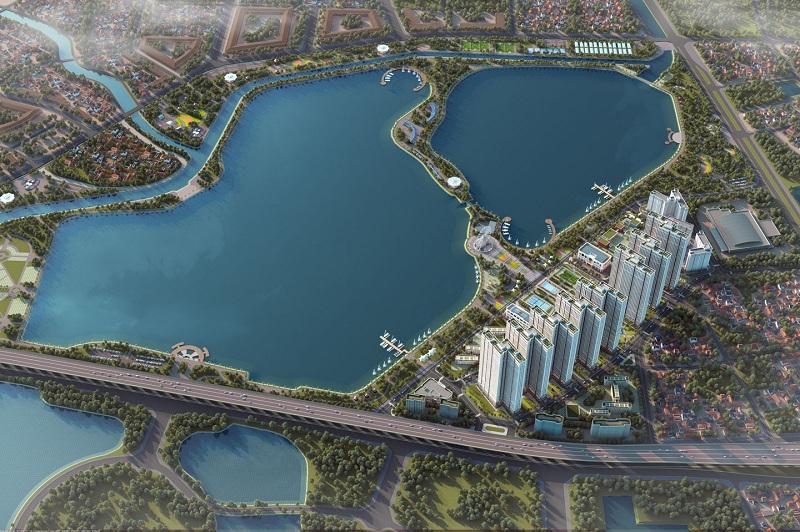 Phối cảnh 2 dự án Eurowindow Lake City Hoàng Mai - Yên Sở