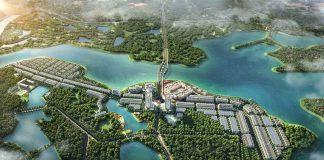 Phối cảnh 2 dự án River Bay Vĩnh Yên - Bắc Đầm Vạc