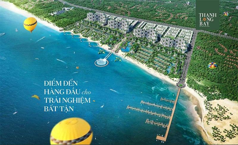 Phối cảnh 2 dự án Thanh Long Bay - Kê Gà - Bình Thuận
