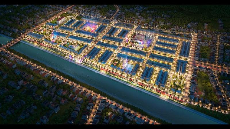 Phối cảnh 2 dự án TNR Stars Cổ Đam - Bỉm Sơn - Thanh Hóa