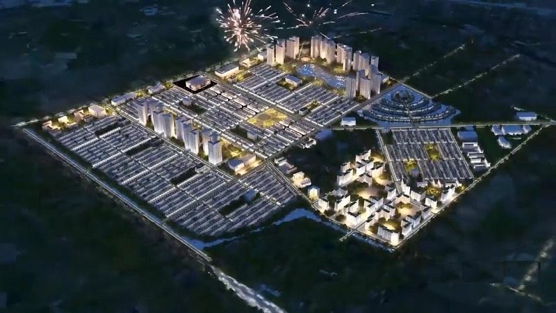 Phối cảnh 2 dự án Vinhomes Dream City Văn Giang - Hưng Yên