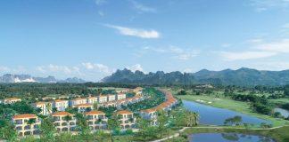 Phối cảnh 3 dự án Wyndham Sky Lake Chương Mỹ Villas & Resort