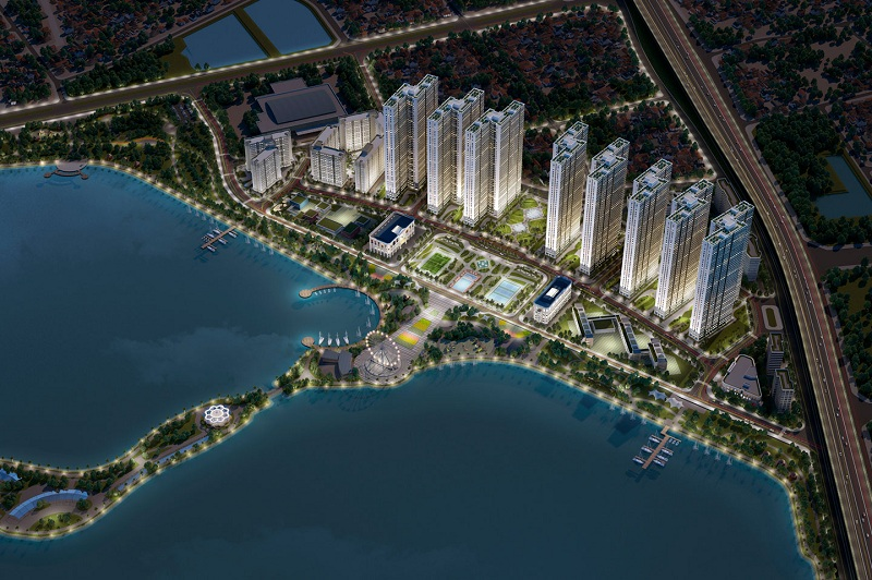 Phối cảnh 3 dự án Eurowindow Lake City Hoàng Mai - Yên Sở