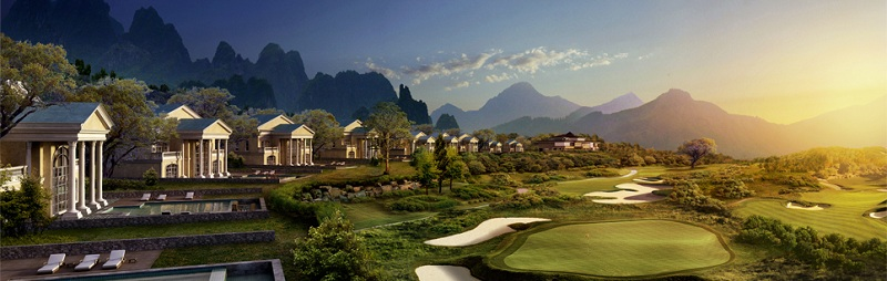 Phối cảnh 4 dự án Wyndham Sky Lake Chương Mỹ Villas & Resort