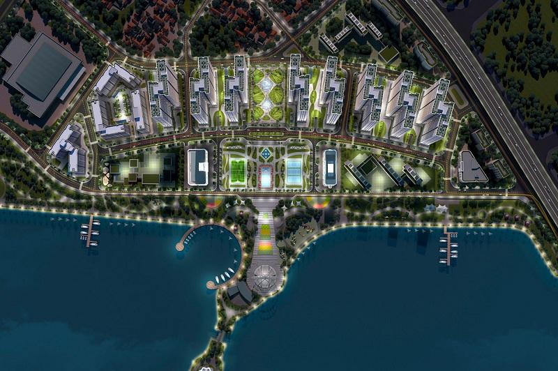 Phối cảnh 6 dự án Eurowindow Lake City Hoàng Mai - Yên Sở
