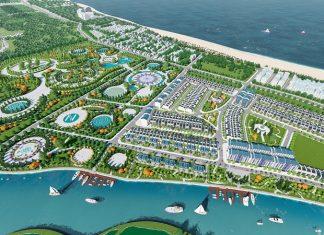 Phối cảnh 1 dự án đất nền Trà Quế Riverside Hội An - Quảng Nam