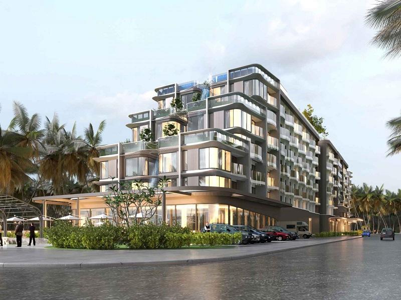 Phối cảnh khách sạn 5 sao dự án L' Aurora Phú Yên