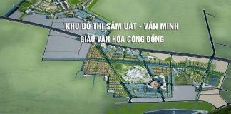 Phối cảnh khu đô thị Mỹ Trung - Nam Định