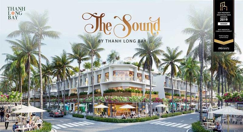 Phối cảnh 1 nhà phố dự án Thanh Long Bay - Kê Gà - Bình Thuận