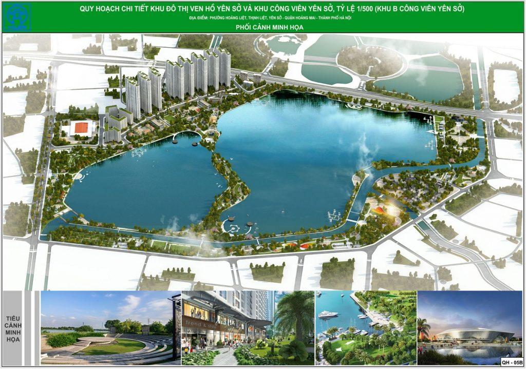 Quy hoạch chi tiết dự án Eurowindow Lake City Hoàng Mai - Yên Sở