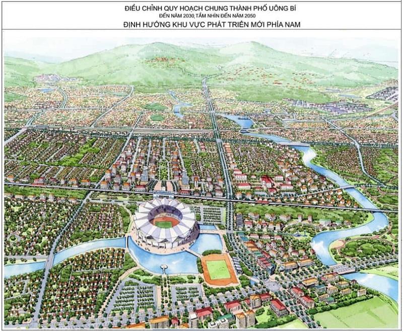 Quy hoạch chung khu vực phía Nam Uông Bí tầm nhìn 2030