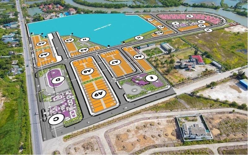 Quy hoạch đất nền dự án Mario Starlight Xuân Lãm - Trưng Vương - Uông Bí