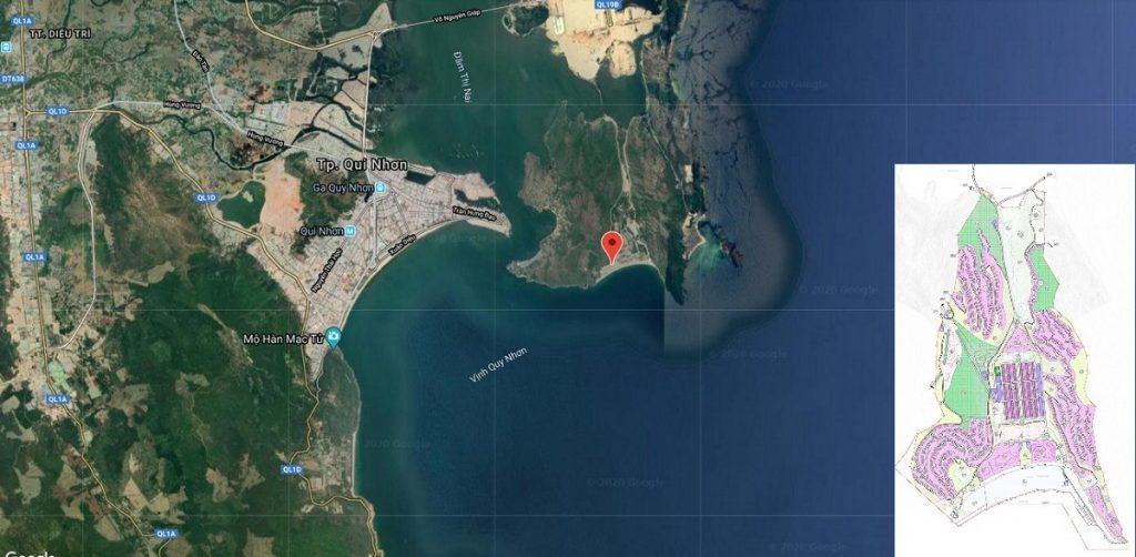 Quy hoạch dự án Hải Giang Merry Land Quy Nhơn - Hưng Thịnh Corp